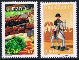 France - Le Marché De Provence 3647 + Napoléon Ier à Cheval 3683 (année 2004) Oblit. - Neufs