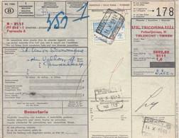 Postcolli - Colis Postaux - 178 - Tirlemont - Tienen / TRICOFINA - Bonneterie - 1952-....