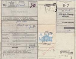 Postcolli - Colis Postaux - 062 - Antwerpen - Ekeren / Ford Motor Company - Auto Onderdelen- Car Parts - 1952-....