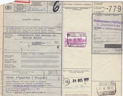 Postcolli - Colis Postaux - 779 - Mont S/ Marchienne - PHAPOVER - Pensionnat Des Soeurs De Sainte Marie Jambes - 1952-....