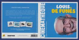 FRANCE Louis De Funes Collector Sous Blister Neuf**. Citroën 2cv, DS Volante, DS. Cadillac  Deville.Cinéma, Film, Movie. - Cinema