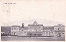 LEUVEN / STATION / LA GARE   1900   PRECURSEUR - Leuven