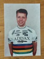 Cyclisme - Photo  : Alex PEDERSEN Champion Du Monde Amateurs 1994 - Cycling