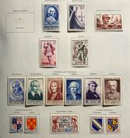 Année Complète 1953 Neuf* Très Frais - 1950-1959