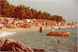 Foto/Photo. Nudisme. Croatie : Bol 1981.  Groupe De Nudistes. - Pin-up