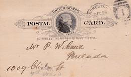 UNITED STATES - POSTAL CARD - STAMP ONE CENT - Briefe U. Dokumente