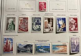 Année Complète 1954 Neuf* Très Frais - 1950-1959