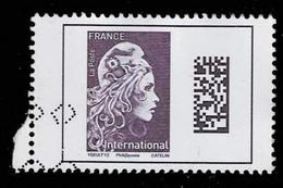 Frankreich 2018,Michel# 7078Ay, Yt# 5258 O Monde: Marianne L'Engagée - 2018-... Marianne L'Engagée