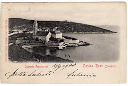 Croatie- Religion- Convento Francescani-Lesina-HVAR ( Dalmazia) - Croatia