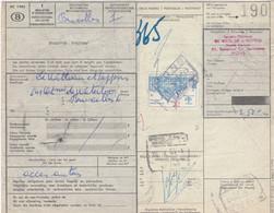 Postcolli - Colis Postaux - 190 - Mons - De Witteleir & Keppens - Auto Onderdelen - Car Parts - Acces. Auto's - 1952-....