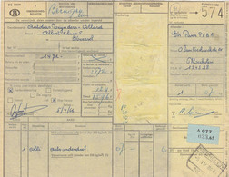 Postcolli - Colis Postaux - 574 - Mechelen - Ets. PANS / Autobus Reynders-Collard Koersel - 1952-....
