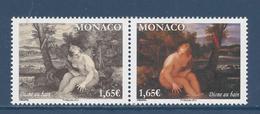 ⭐ Monaco - YT N° 2923 Et 2924 - Neuf Sans Charnière - 2014 ⭐ - Unused Stamps