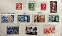 Année Complète 1955 Neuf* Très Frais - 1950-1959