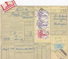 Postcolli - Colis Postaux - 330 - Antwerpen - Ets. VERBEECK / Garage Wolfs - Haacht - 1952-....