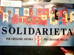 SOLIDARIETA LIBERTAS DEMOCRAZIA CRISTIANA DC  LONG SIZE 21 X 10,5 HZ5396 - Partidos Politicos & Elecciones