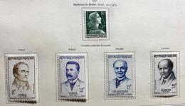 Année Complète 1958 Neuf* Très Frais - 1950-1959