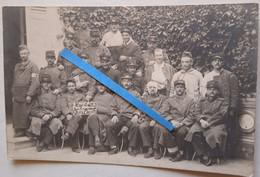 """1914 Eure Hôpital No 53 Croix Rouge Infirmières France Blessés """" Les Bourreaux De Guillaume """" 14-18 Poilu Photo Ww1 - Guerra, Militari"""