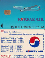 GERMANY - Korean Air(K 977 A), Tirage 3600, 08/93, Mint - K-Series: Kundenserie