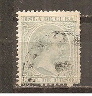 Cuba Española - Edifil 127 - Yvert 82 (usado) (o) - Kuba (1874-1898)