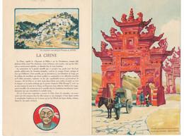CARD MENU' CINA CM.21X13,5 LIBERTY NUOVO PUBBLICITA CHAMPAGNE (HEIDSIECK) REIMS 2 SCANNER -2-0882-29881-882 - China