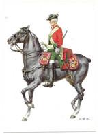 ENGLAND 1742 -  6 Th REGIMENT OF HORSE - DRAGONER  (ARTIST  W. TRITT) - Uniformes