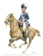 ENGLAND 1793 -  15 Th LIGHT DRAGOONS - OFFIZIER  (ARTIST  W. TRITT) - Uniformes