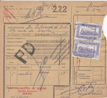 Postcolli - Colis Postaux - 222 - Tertre - Les Colorants De Tertre - 1952-....