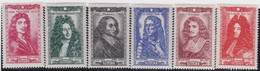 France   .    Yvert    .   612/617.     *     .    Neuf Avec Gomme  Et Charnière     .   /   .     Mint-hinged - Unused Stamps