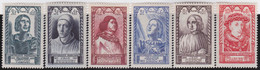 France   .    Yvert    .    765/770      .     *     .    Neuf Avec Gomme  Et Charnière     .   /   .     Mint-hinged - Unused Stamps