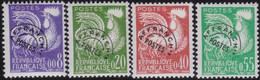 France   .    Yvert    .    P. 119/122      .     *     .    Neuf Avec Gomme  Et Charnière     .   /   .     Mint-hinged - 1964-1988