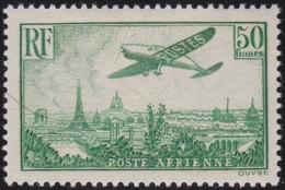 France   .    Yvert    .   PA 14     (2 Scans)  .  *  .    Neuf Avec Gomme  Et Charnière  .   /   .   Mint-hinged - 1927-1959 Neufs