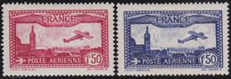 France   .    Yvert    .   PA  5/6       .  *  .    Neuf Avec Gomme  Et Charnière  .   /   .   Mint-hinged - 1927-1959 Neufs