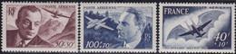 France   .    Yvert    .   PA  21/23        .  *  .    Neuf Avec Gomme  Et Charnière  .   /   .   Mint-hinged - 1927-1959 Neufs
