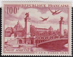 France   .    Yvert    .   PA  28       .  *  .    Neuf Avec Gomme  Et Charnière  .   /   .   Mint-hinged - 1927-1959 Neufs