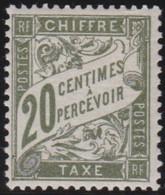 France   .    Yvert    .    Taxe 31    .     *     .    Neuf Avec Gomme  Et Charnière     .   /   .     Mint-hinged - 1859-1955 Neufs