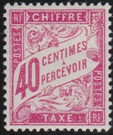 France   .    Yvert    .    Taxe 35    .     *     .    Neuf Avec Gomme  Et Charnière     .   /   .     Mint-hinged - 1859-1955 Postfris