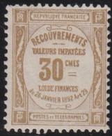 France   .    Yvert    .    Taxe 46     .     *     .    Neuf Avec Gomme  Et Charnière     .   /   .     Mint-hinged - 1859-1955 Neufs