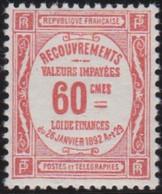 France   .    Yvert    .    Taxe 48     .     *     .    Neuf Avec Gomme  Et Charnière     .   /   .     Mint-hinged - 1859-1955 Neufs