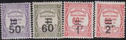 France   .    Yvert    .    Taxe  51/54     .     *     .    Neuf Avec Gomme  Et Charnière     .   /   .     Mint-hinged - 1859-1955 Neufs