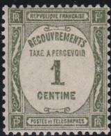 France   .    Yvert    .    Taxe  55    .     *     .    Neuf Avec Gomme  Et Charnière     .   /   .     Mint-hinged - 1859-1955 Neufs