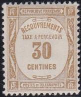 France   .    Yvert    .    Taxe  57    .     *     .    Neuf Avec Gomme  Et Charnière     .   /   .     Mint-hinged - 1859-1955 Neufs
