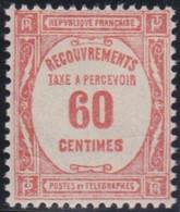 France   .    Yvert    .    Taxe  58    .     *     .    Neuf Avec Gomme  Et Charnière     .   /   .     Mint-hinged - 1859-1955 Neufs