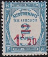 France   .    Yvert    .    Taxe  64     .     *     .    Neuf Avec Gomme  Et Charnière     .   /   .     Mint-hinged - 1859-1955 Neufs