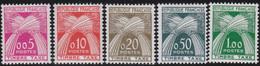 France   .    Yvert    .    Taxe  90/94    .     *     .    Neuf Avec Gomme  Et Charnière     .   /   .     Mint-hinged - 1859-1955 Neufs