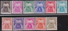 France   .    Yvert    .    Taxe  67/77   .     *     .    Neuf Avec Gomme  Et Charnière     .   /   .     Mint-hinged - 1859-1955 Neufs