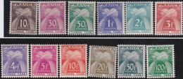 France   .    Yvert    .    Taxe  78/89    .     *     .    Neuf Avec Gomme  Et Charnière     .   /   .     Mint-hinged - 1859-1955 Neufs