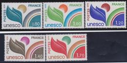 France   .    Yvert    .    Service  5 Timbres      .     **    .    Neuf SANS Charnière     .   /   .   MNH - Neufs