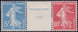 France   .    Yvert    .   242A  (2 Scans)  .     *     .    Neuf Avec Gomme  Et Charnière     .   /   .     Mint-hinged - Unused Stamps
