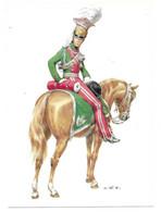 FRANKREICH 1814  -  LANCIERS DE LA GARDE ROYALE - OFFIZIER  (ARTIST  W. TRITT) - Uniformes