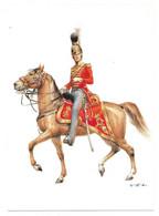 FRANKREICH 1814  -  CHEVAULEGERS DE LA GARDE DU ROI - OFFIZIER  (ARTIST  W. TRITT) - Uniformes